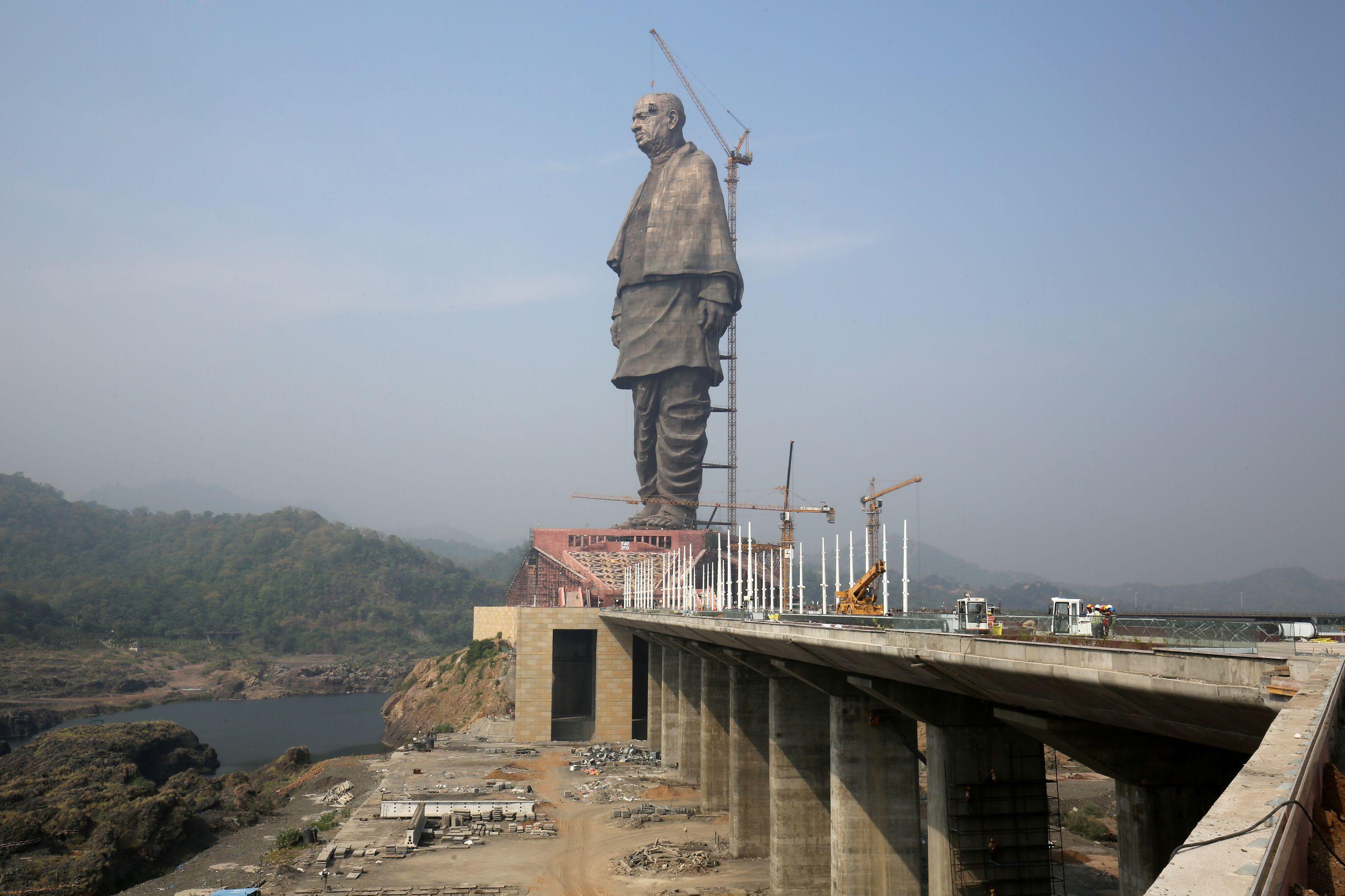 Esperam-se protestos na inauguração da Estátua da Unidade na Índia