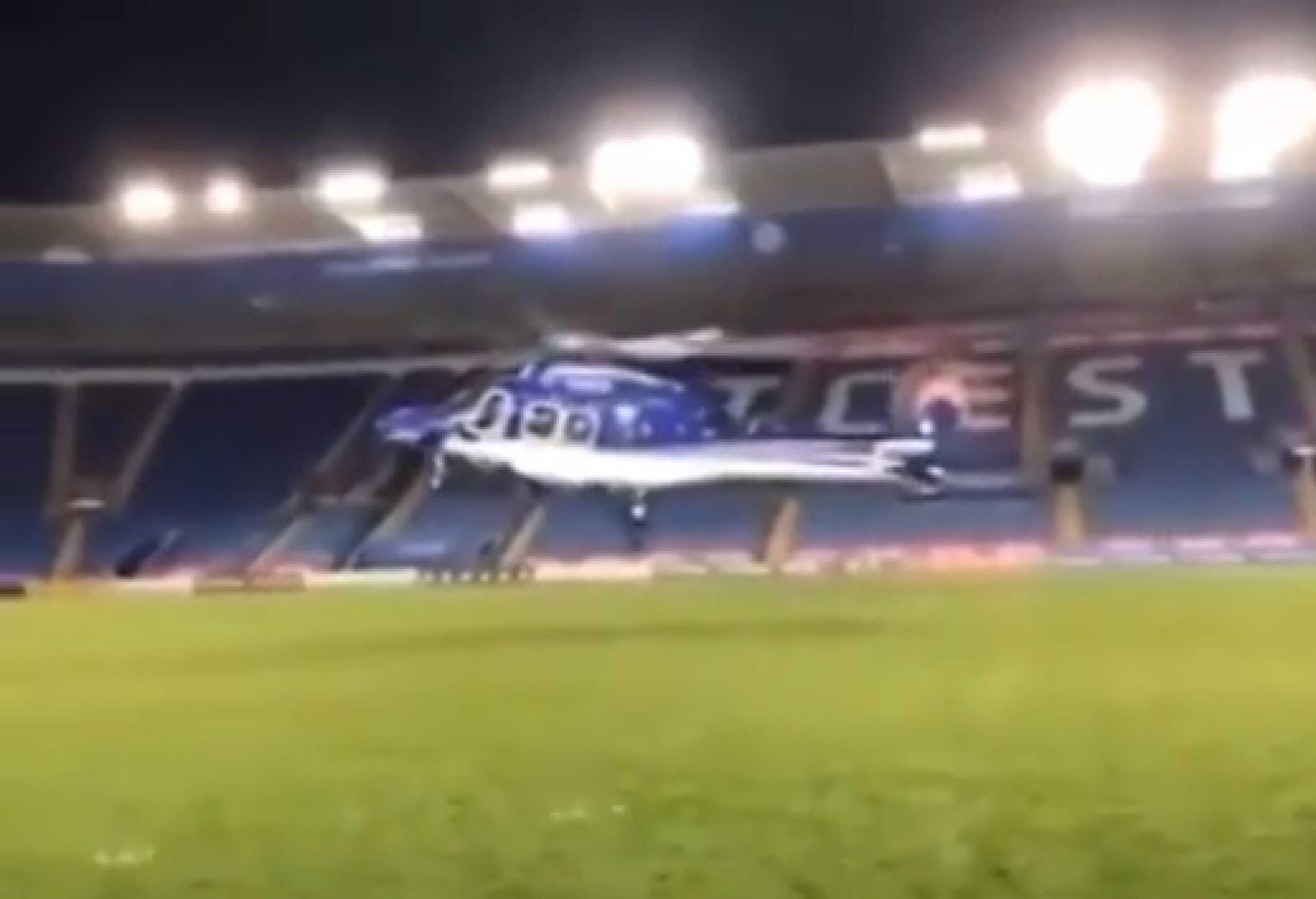 Novas imagens captam momento em que helicóptero de dono do Leicester caiu