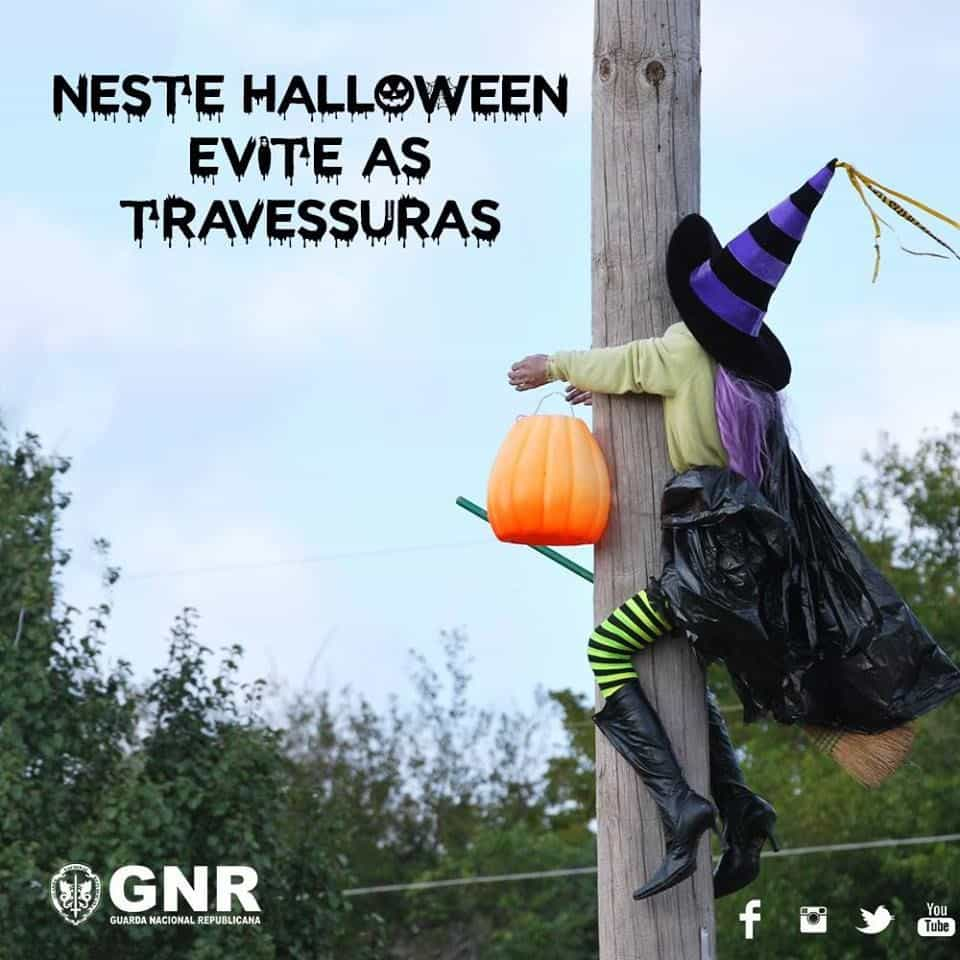 Mesmo no Halloween… evite as travessuras