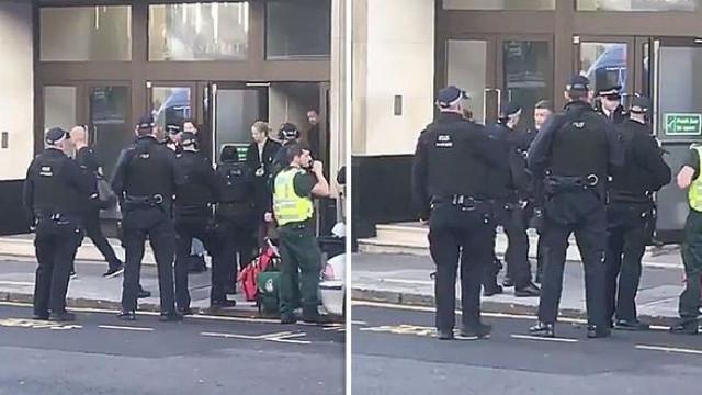 Detido homem que esfaqueou duas pessoas num escritório em Londres