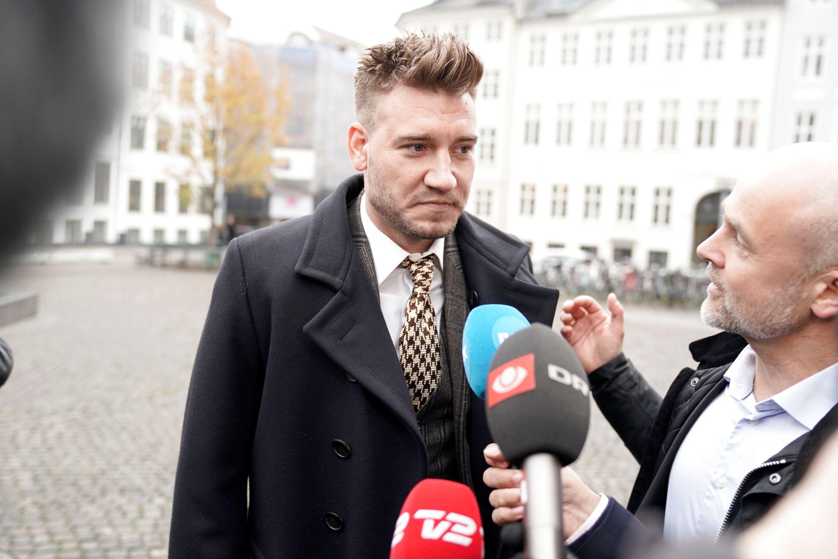 Nicklas Bendtner condenado a 50 dias de cadeia por agressão