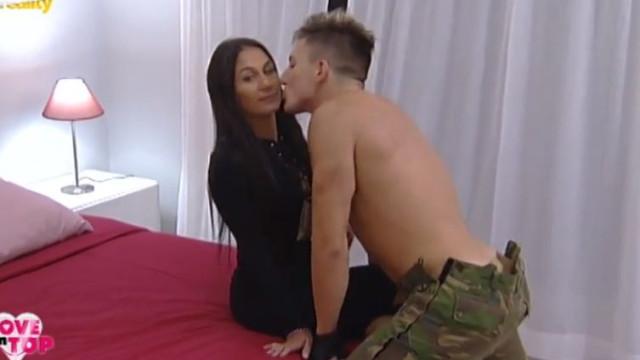 Momento de tensão no 'Love On Top': Enzo beija Cláudia sem consentimento