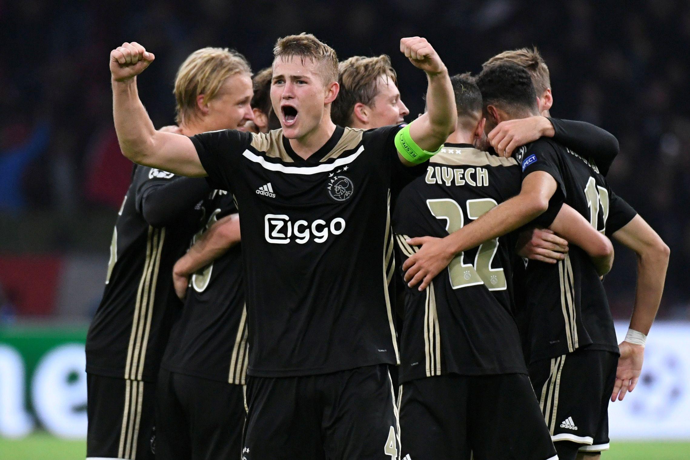 Ajax coloca condição à transferência de De Ligt para o Barcelona