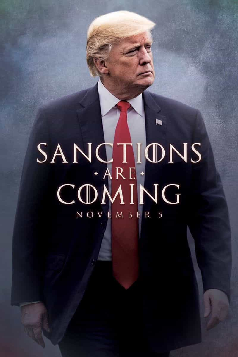 Trump abre 'guerra de memes' de 'Game of Thrones' com tweet sobre Irão