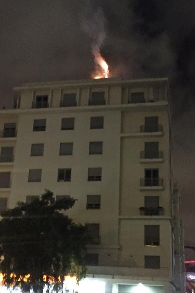 Incêndio junto ao Estádio da Luz já está extinto