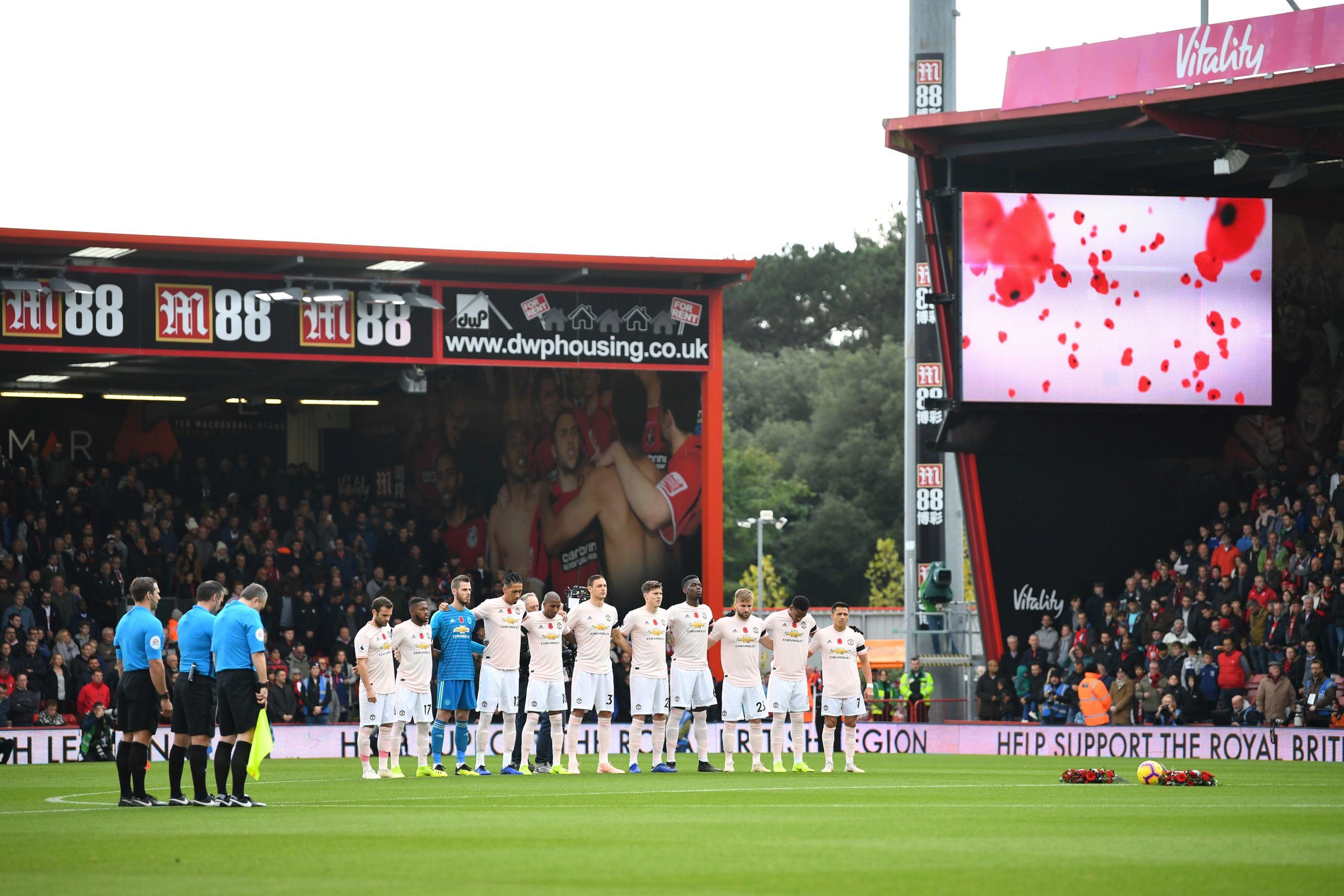 Os nove minutos de silêncio que arrepiaram a Premier League