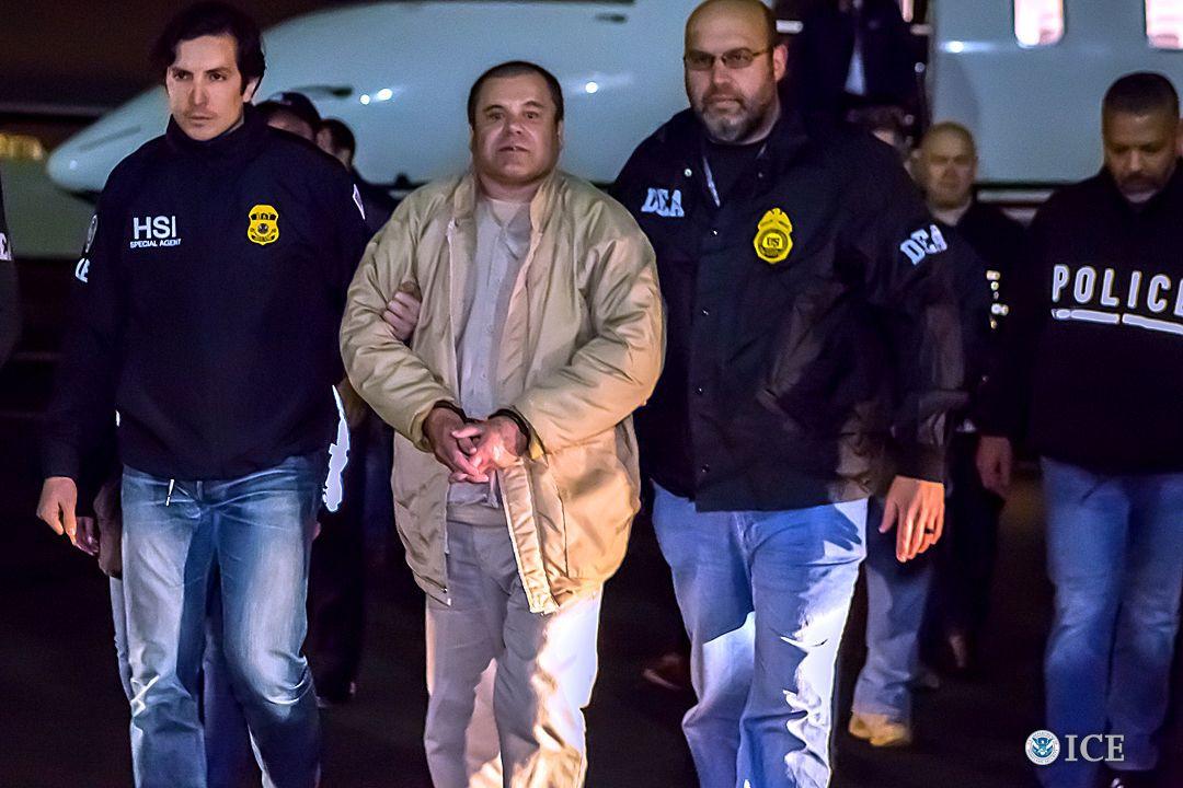 Júri no julgamento de El Chapo será anónimo e terá escolta para tribunal