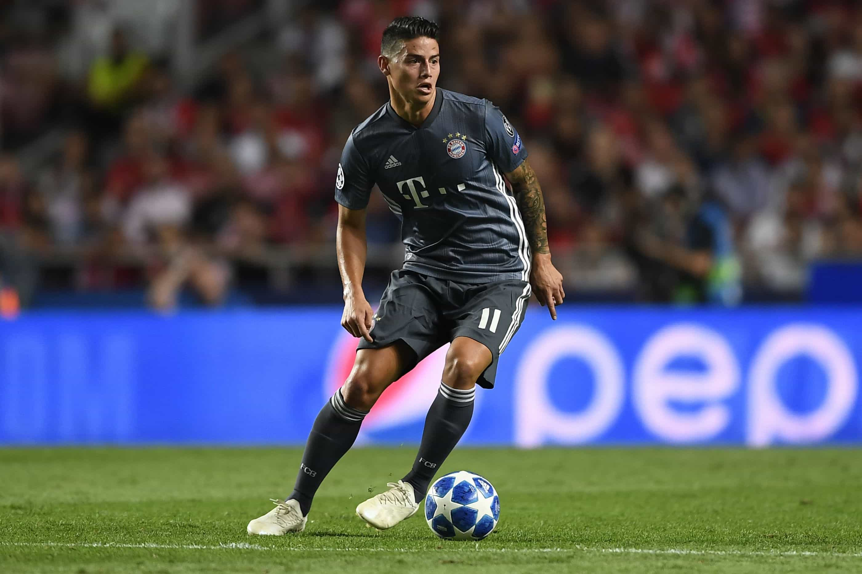 James protagonista de nova polémica no Bayern Munique