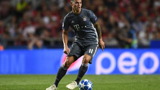 James protagonista de nova polémica no Bayern Munique