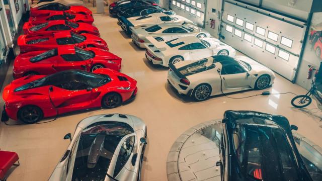 Atenção, Ronaldo! Esta é a maior garagem de carros do mundo