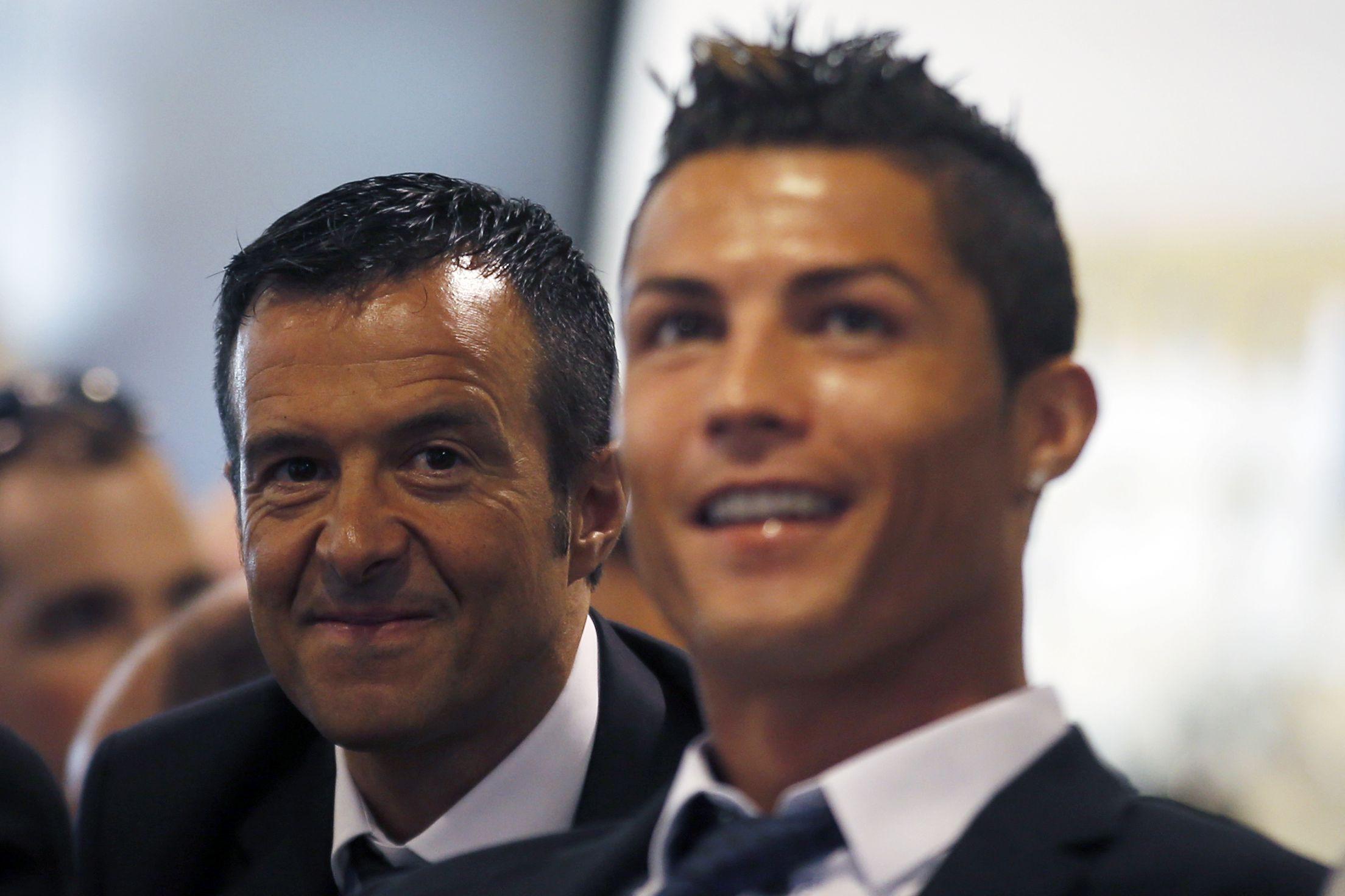 """Jorge Mendes: """"Cristiano Ronaldo é o melhor jogador da história"""""""