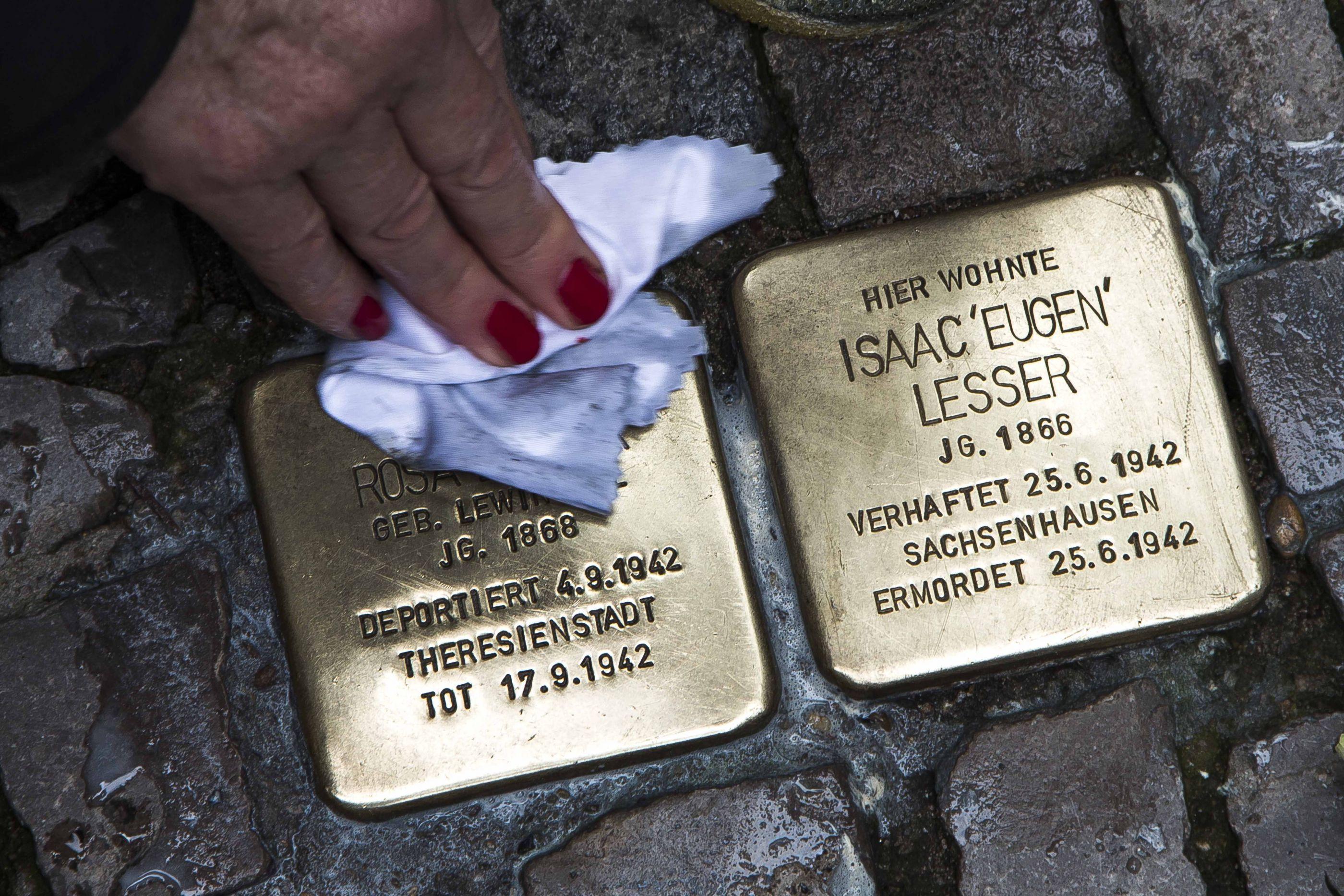 'Noite de Cristal' recordada 80 anos depois em Berlim