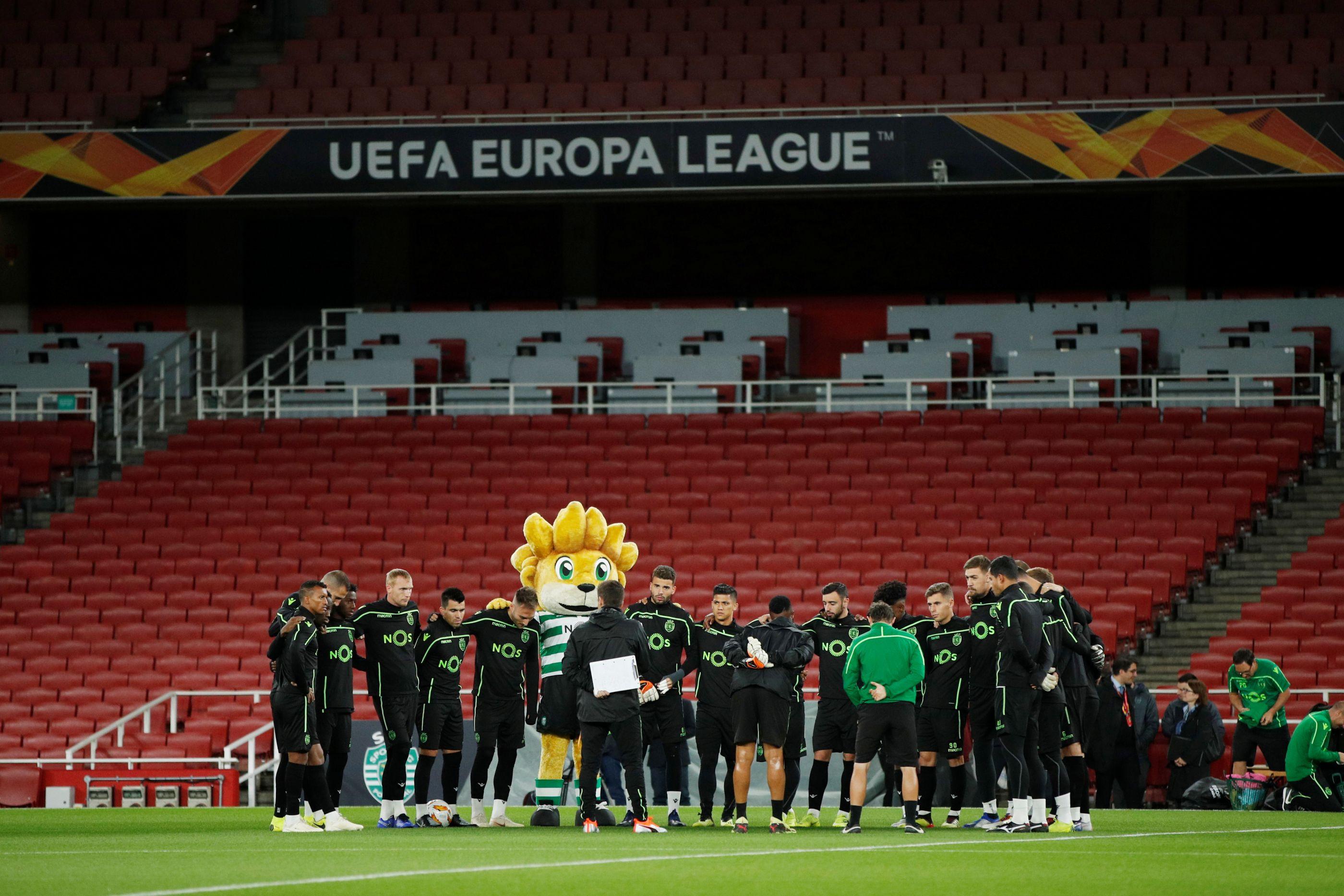 Arsenal-Sporting: Leão tem de se vestir de... azul para sorrir no final