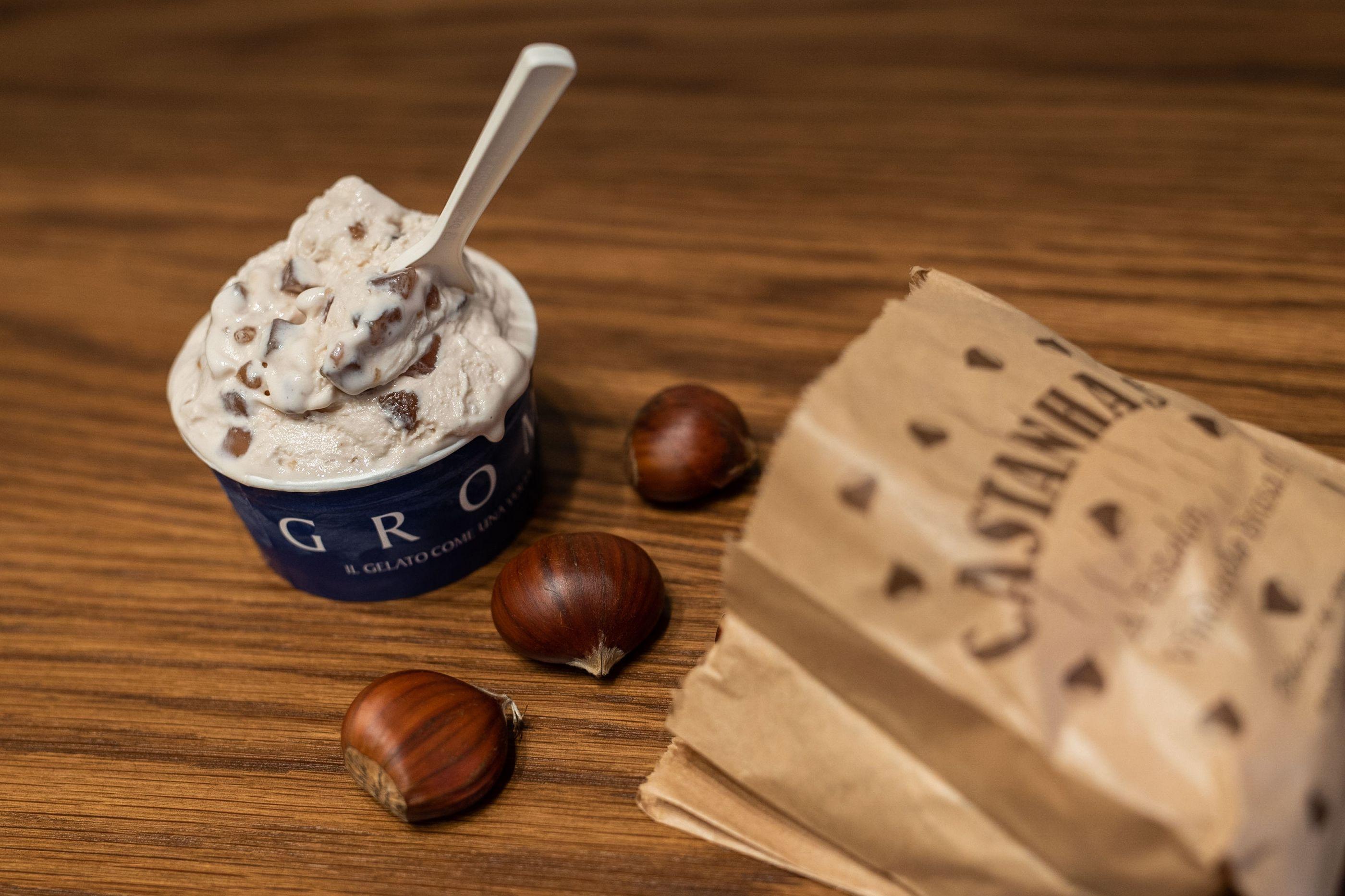 Celebre o São Martinho com novo sabor de gelado de Castanha Caramelizada