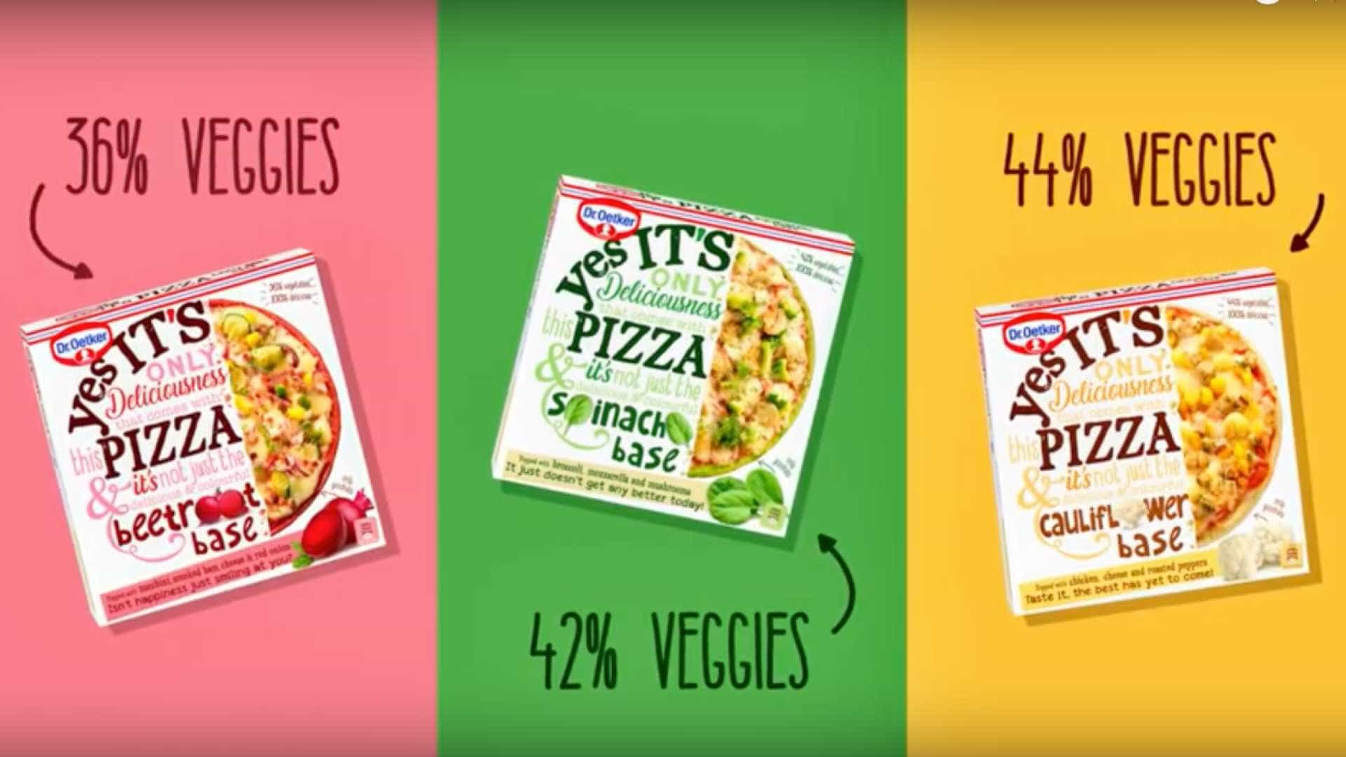 'YES It's Pizza', e a massa é vegetal