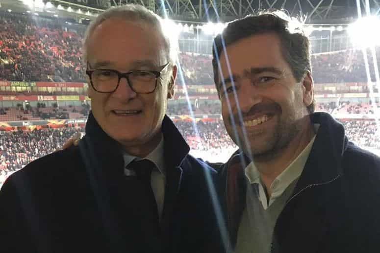 Sporting voltou a 'unir' Cláudio Ranieri e Pedro Madeira Rodrigues