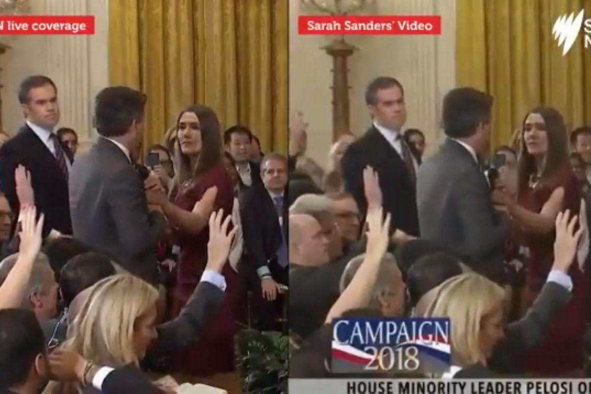 Um jornalista contra Donald Trump. Terá a Casa Branca editado vídeo?