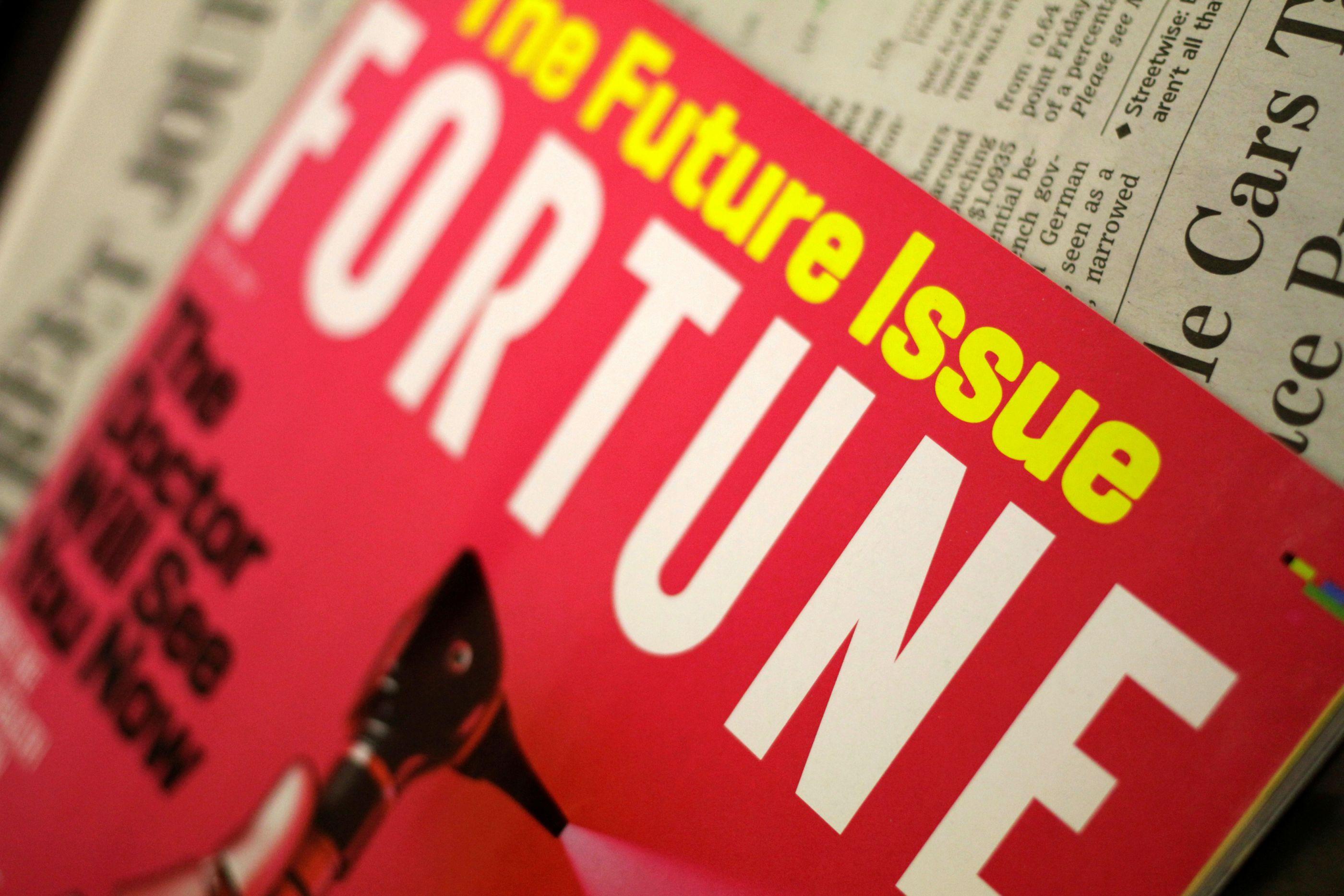 Revista Fortune vendida por 150 milhões de dólares