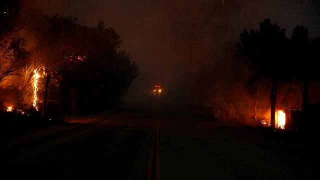 São já 11 as vítimas mortais nos incêndios na Califórnia