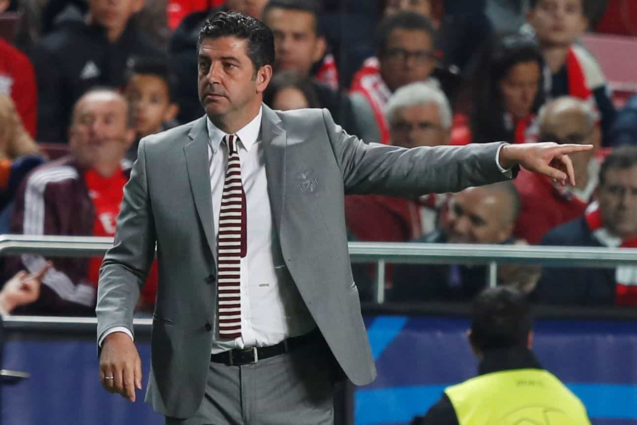[1-1] Tondela-Benfica: Conti sobre a linha de golo salva segundo do Tonde