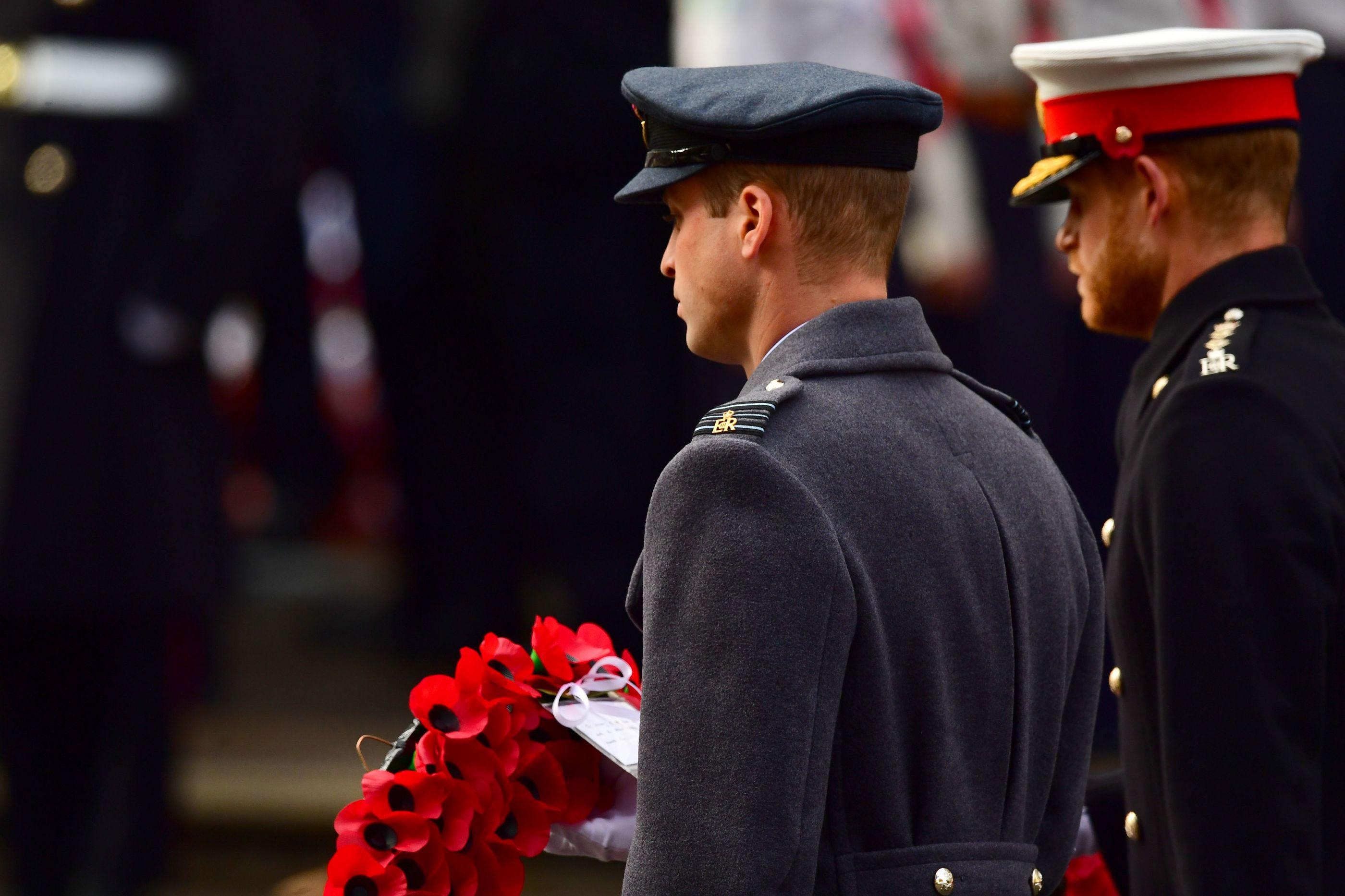 Família Real junta-se na cerimónia do Dia do Armistício