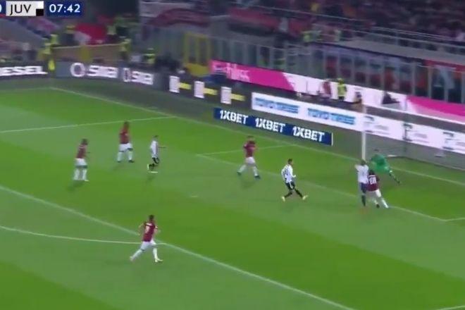 Cabeçada de Mandzukic inaugura marcador no AC Milan-Juventus