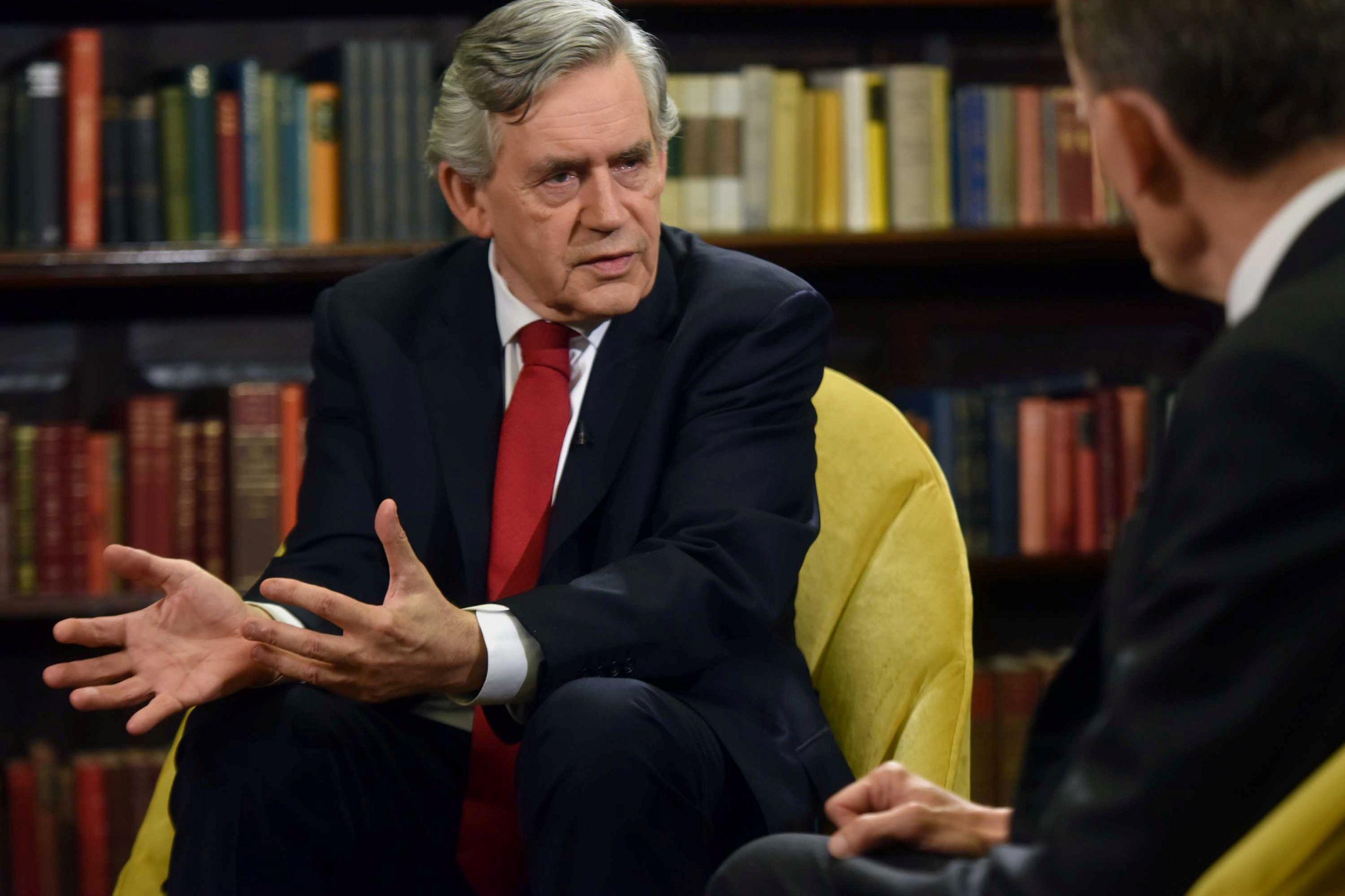 Gordon Brown acredita que haverá um segundo referendo