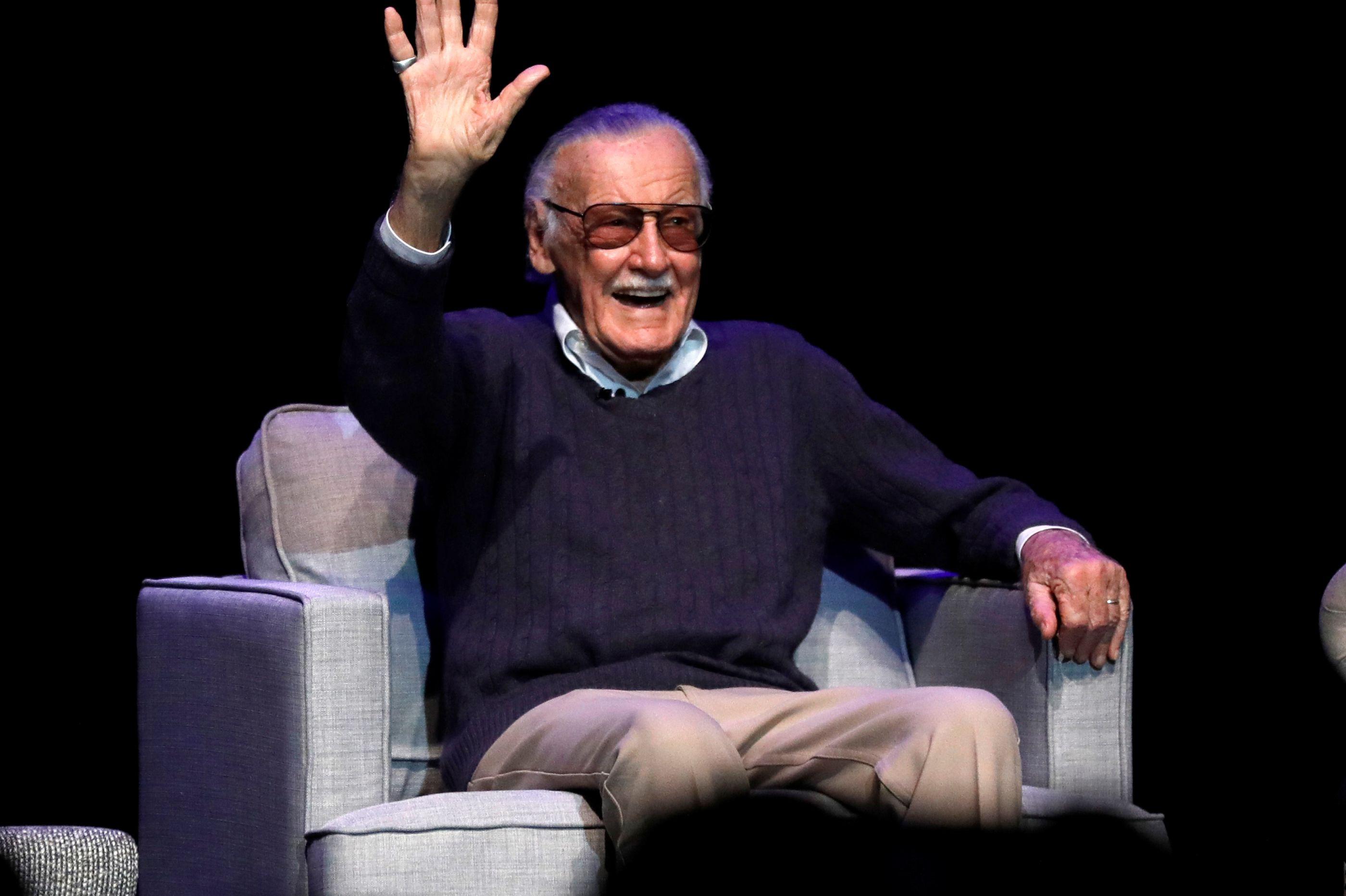 O herói dos super-heróis. Recorde alguns momentos do eterno Stan Lee