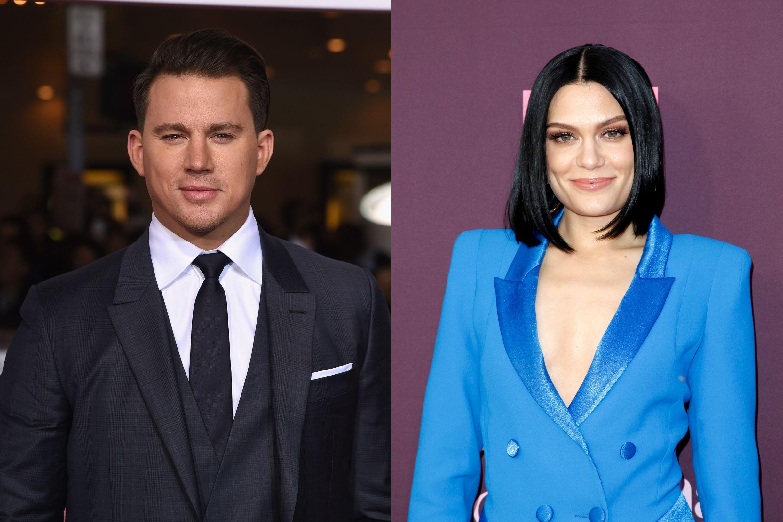Channing Tatum e Jessie J 'apanhados' pela primeira vez juntos