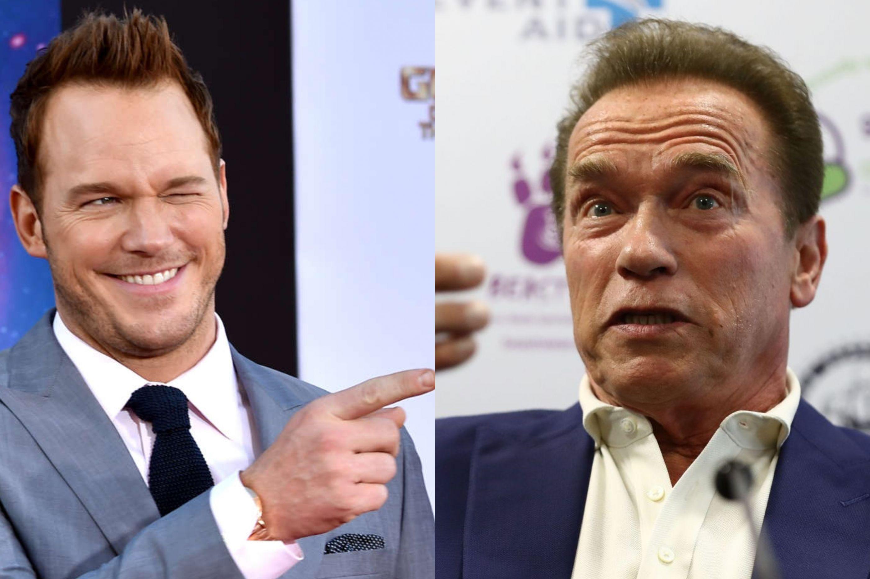 Chris Pratt pediu a mão ao futuro sogro, Arnold Schwarzenegger