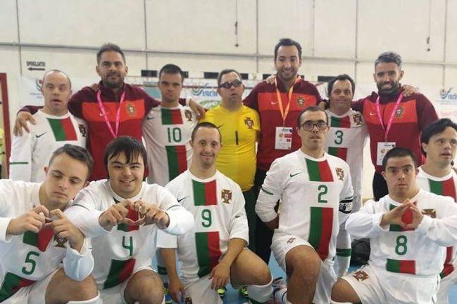 Seleção portuguesa de Síndrome de Down venceu a campeã do mundo