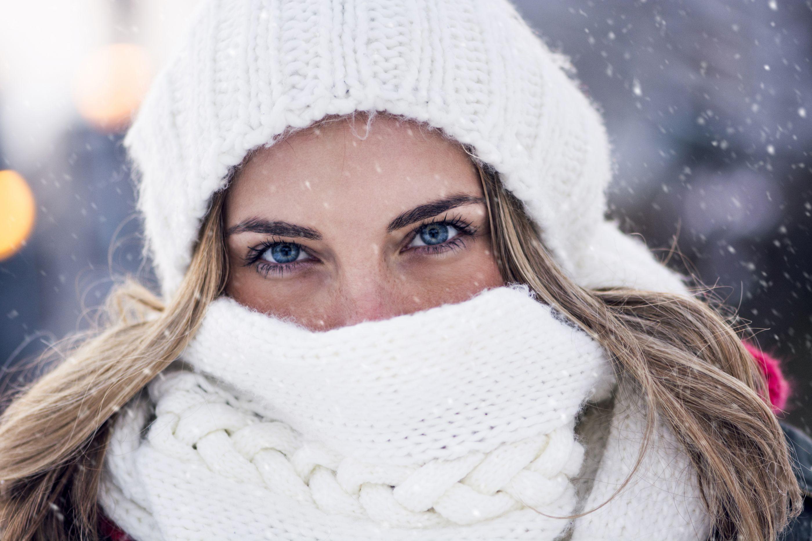 O inverno está a chegar. Proteja a sua pele, assim