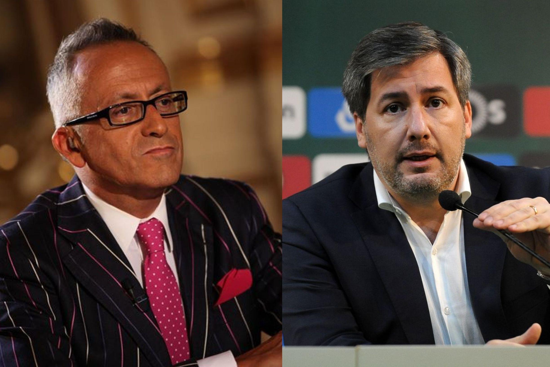 """A questão de Goucha sobre Bruno de Carvalho: """"É um homem perturbado?"""""""
