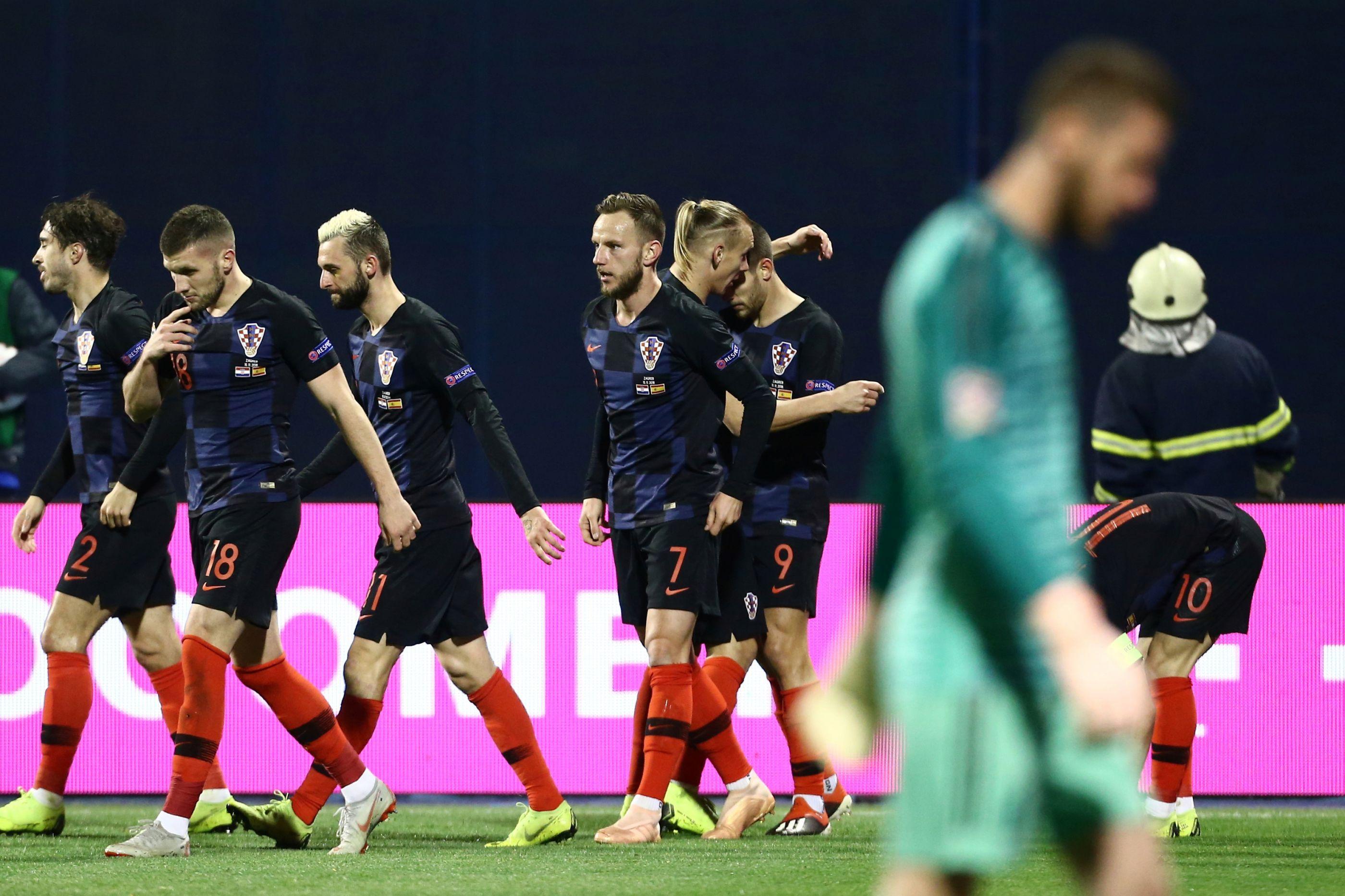 Espanha cai em solo croata e depende de terceiros para ter um final feliz