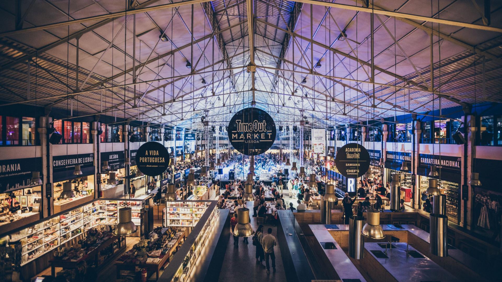 Ao fim de mais de 3 meses, Time Out Market Lisboa reabre na quarta-feira
