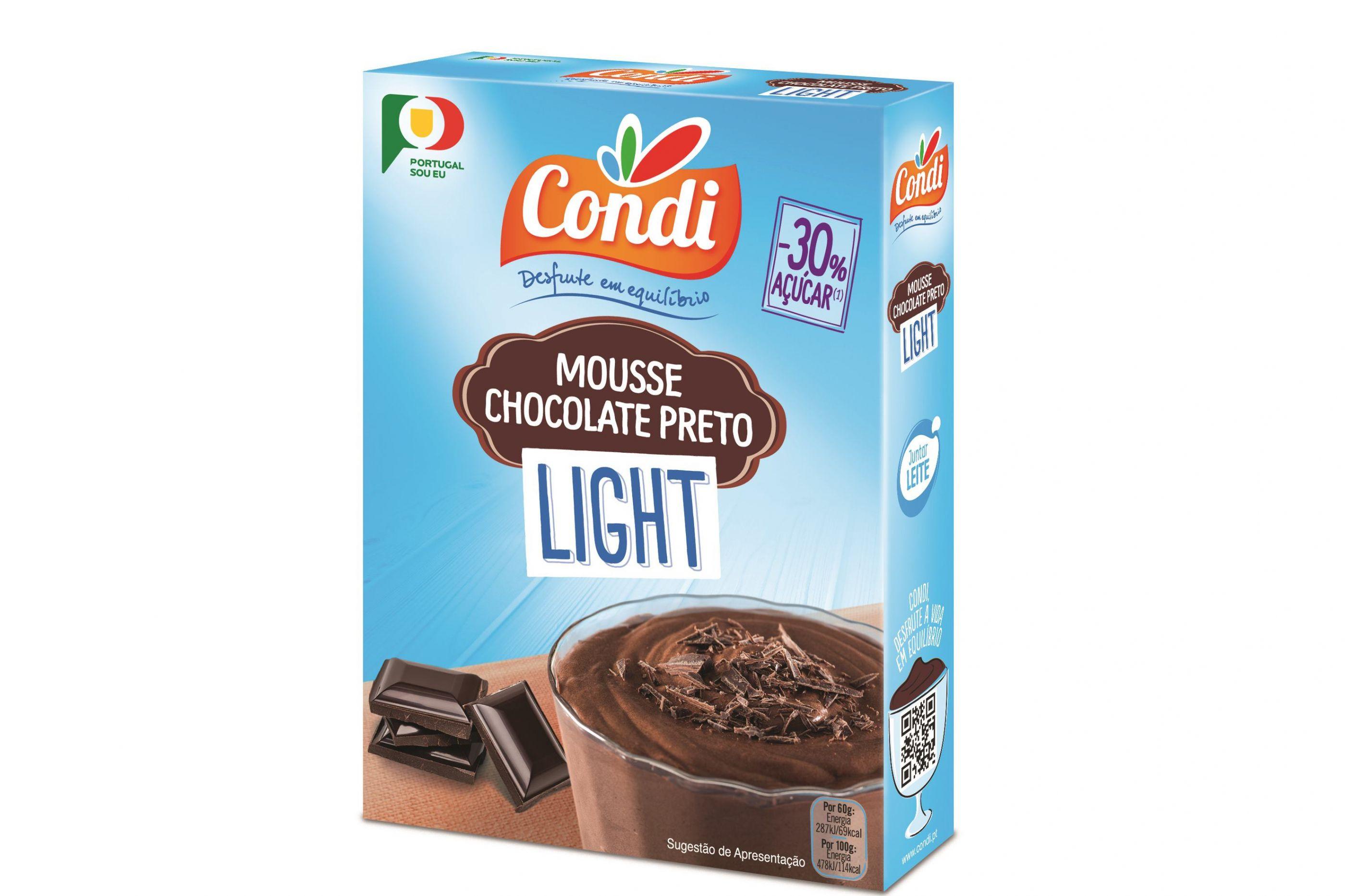 Condi inova com o lançamento da gama Mousses Light