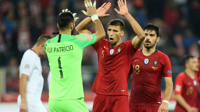 Juventus marcou presença no Portugal-Itália e seguiu jogador das águias