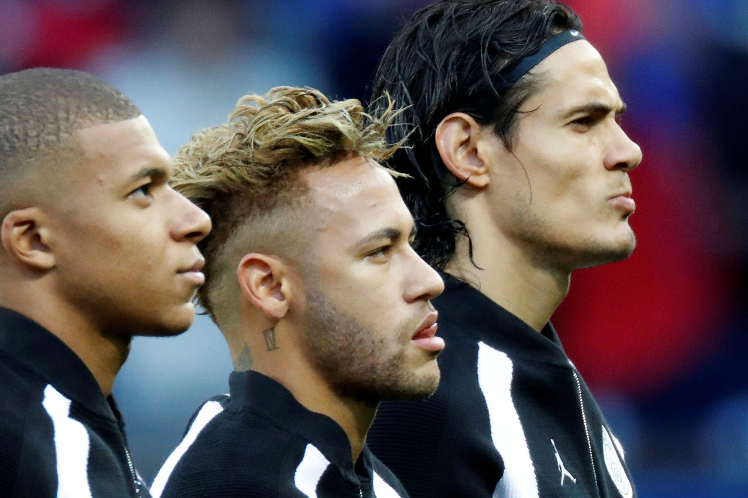 Mbappé comenta 'picardia' nas seleções entre Neymar e Cavani
