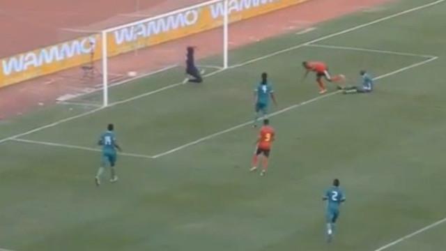 Gelson Dala e Mateus brilham no triunfo de Angola diante do Burkina Faso