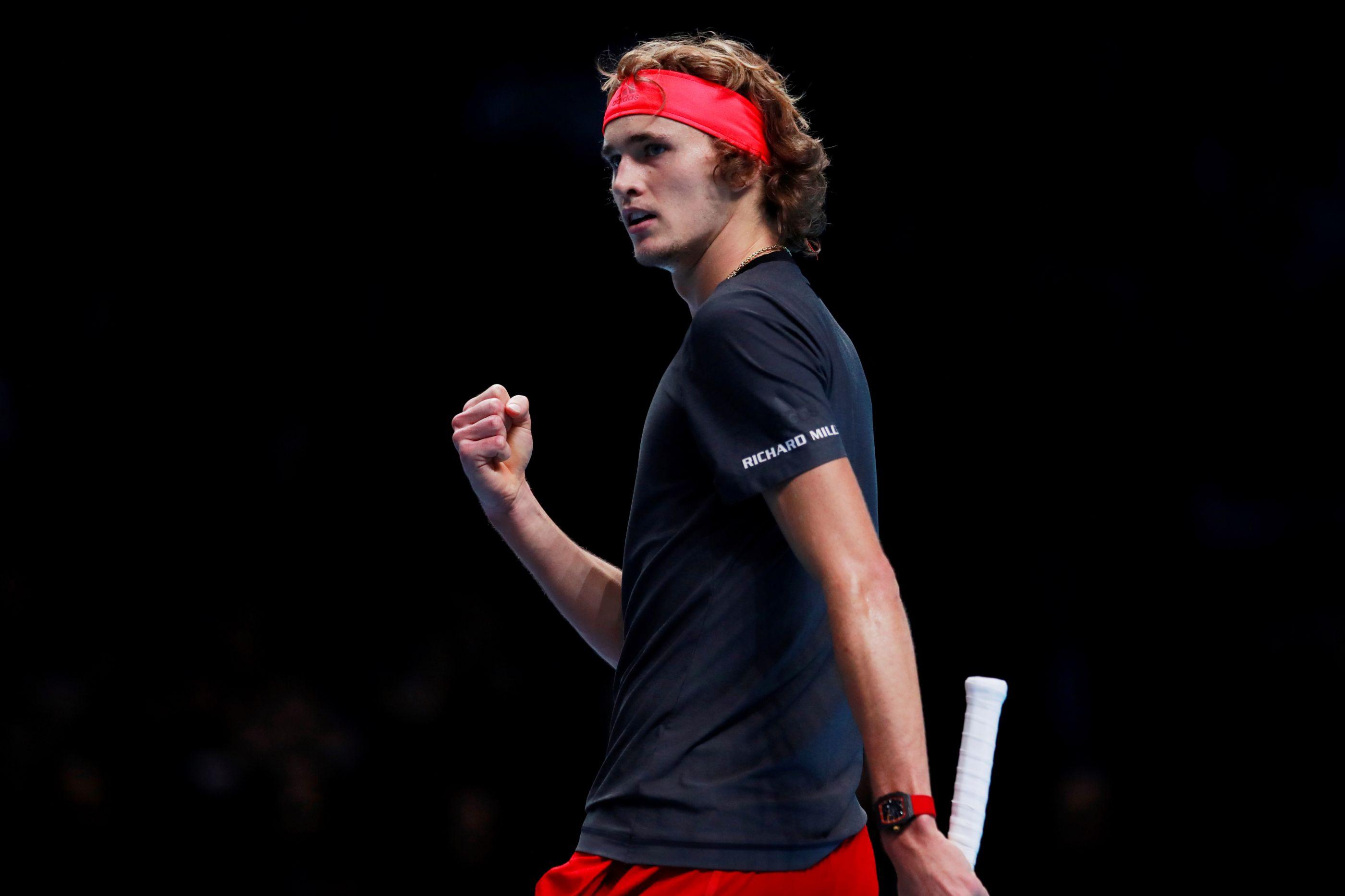 Alexander Zverev vence Djokovic e conquista ATP Finals