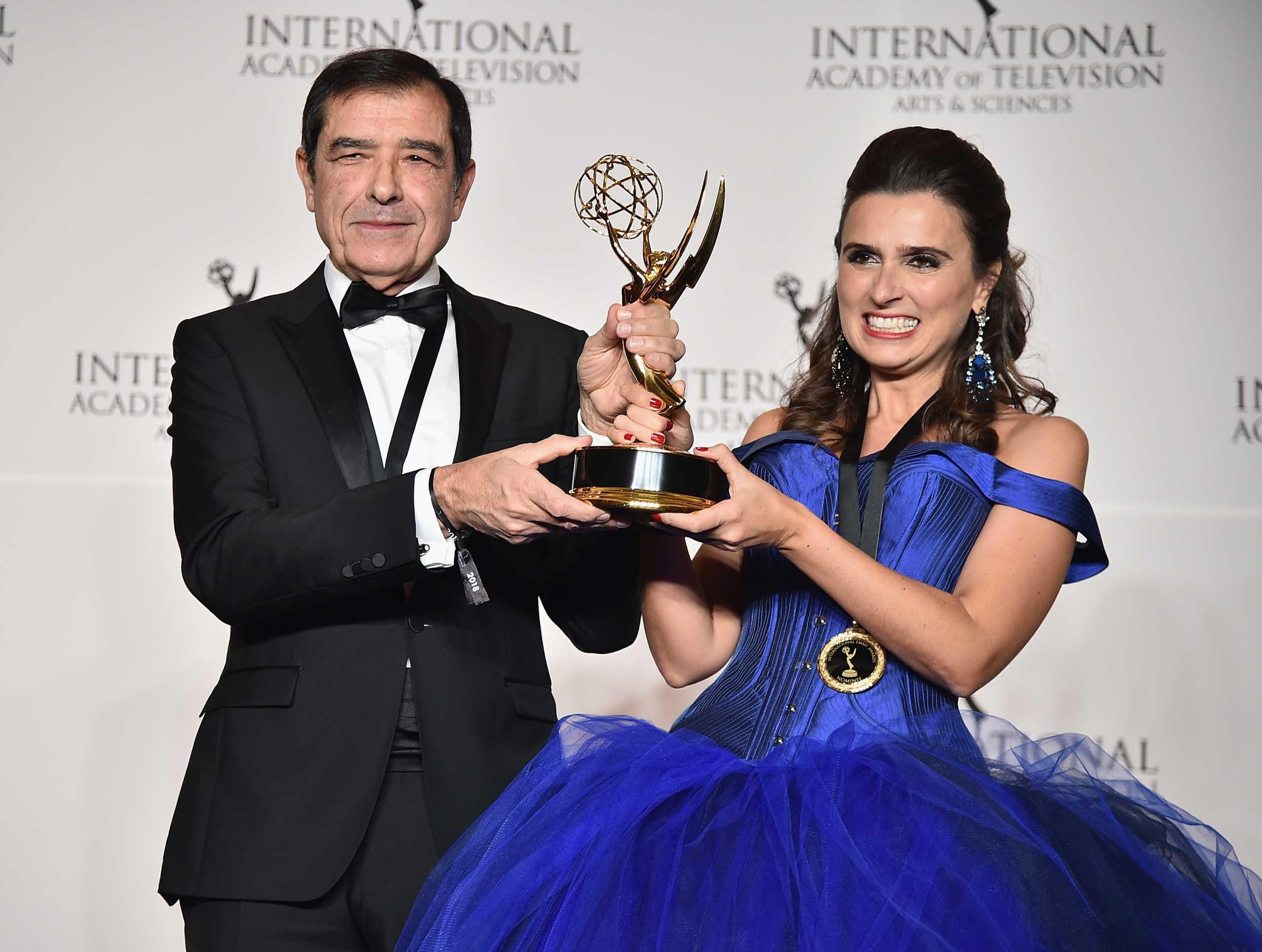 Joana de Verona mostra reação após novela da TVI receber Emmy