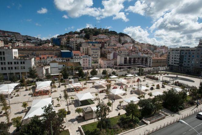 PCP quer esclarecimentos sobre requalificação da praça do Martim Moniz
