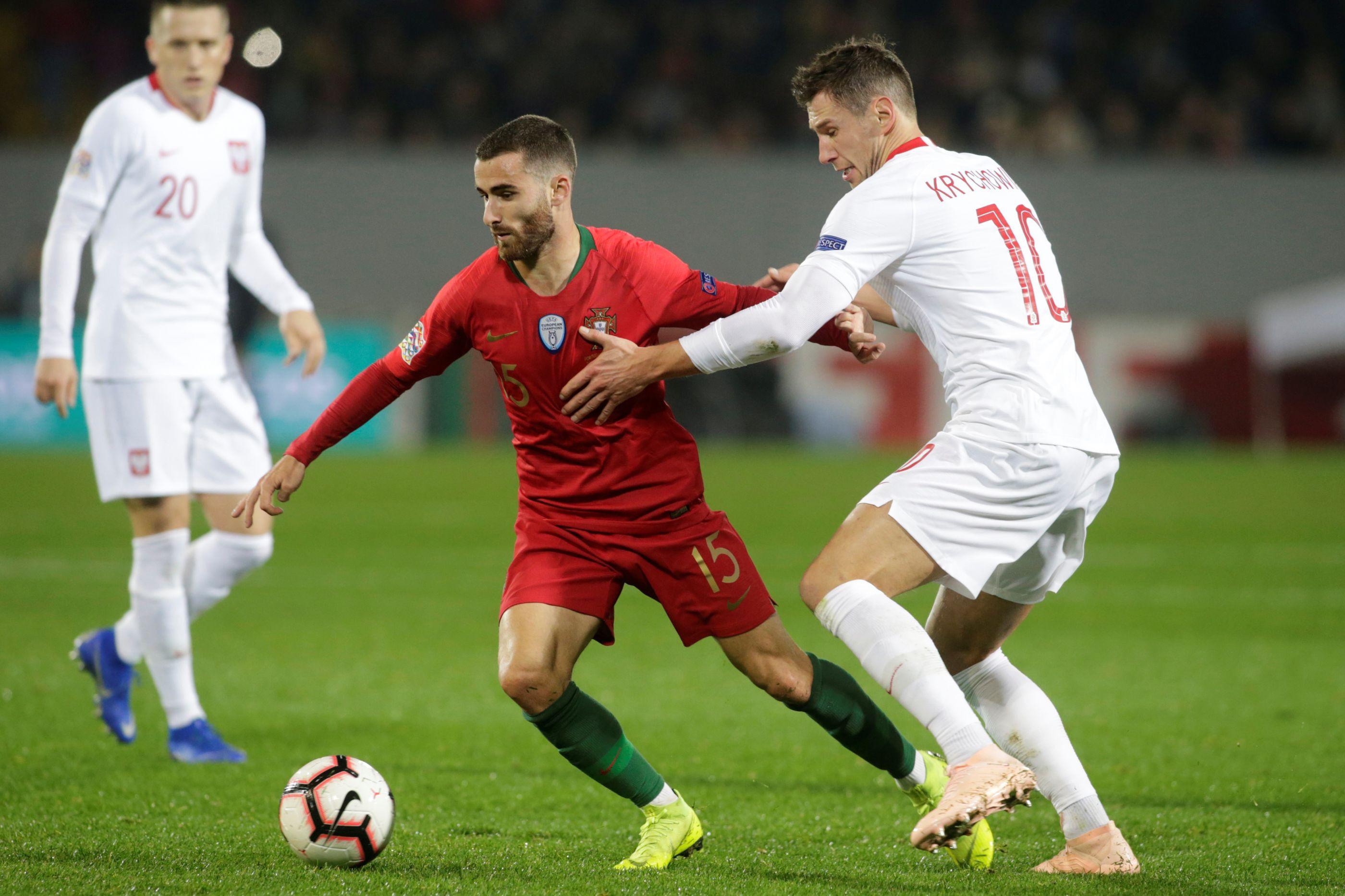 [1-1] Portugal-Polónia: Milik marca. Portugueses reduzidos a dez unidades