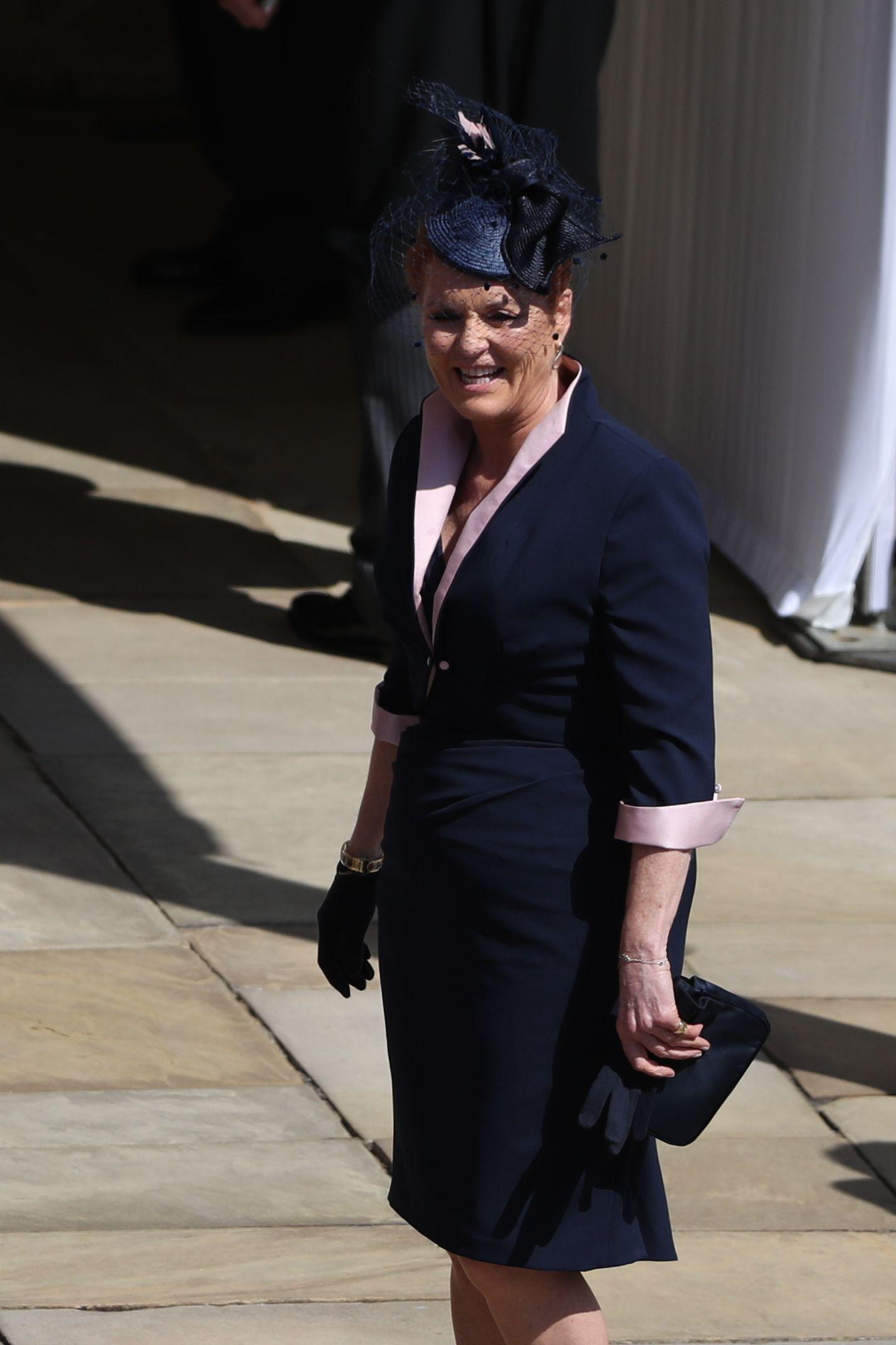 Sarah Ferguson emocionou-se no casamento de Harry ao recordar Diana