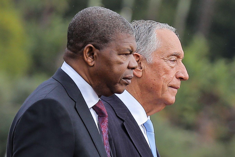 Marcelo recebido por João Lourenço no palácio presidencial