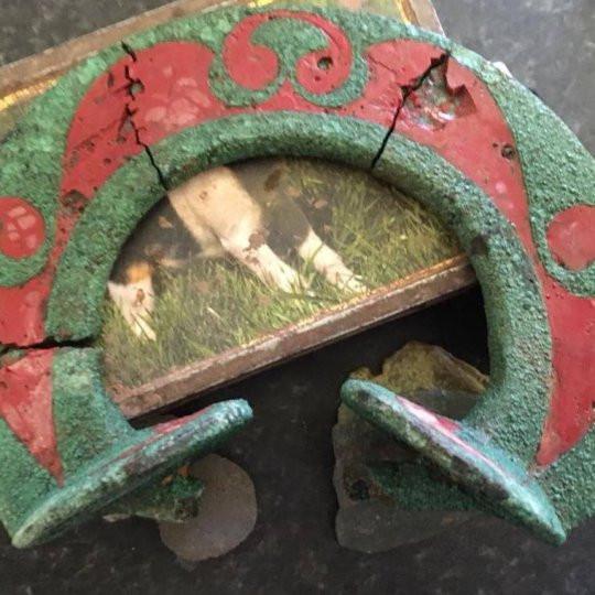Carruagem celta com 2.500 anos encontrada por caçador de tesouros