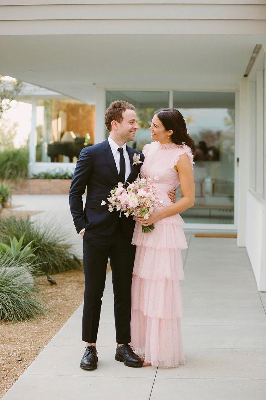 Reveladas novas imagens do casamento de Mandy Moore