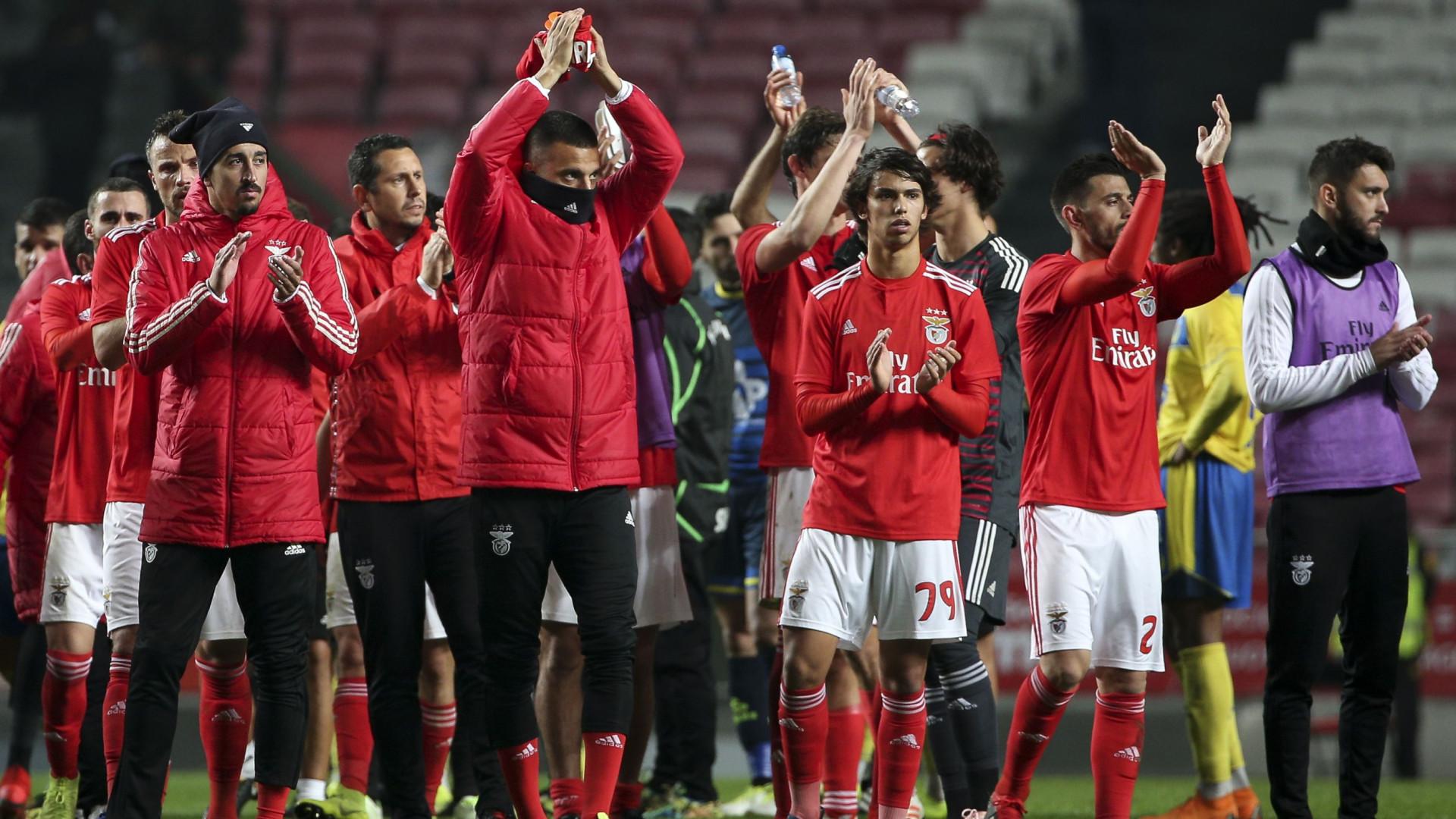 60649bf08c148 Regresso de Krovi foi  batizado  com um inédito triunfo do Benfica