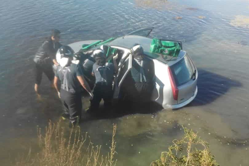 Queda de veículo à ria Formosa faz um ferido ligeiro