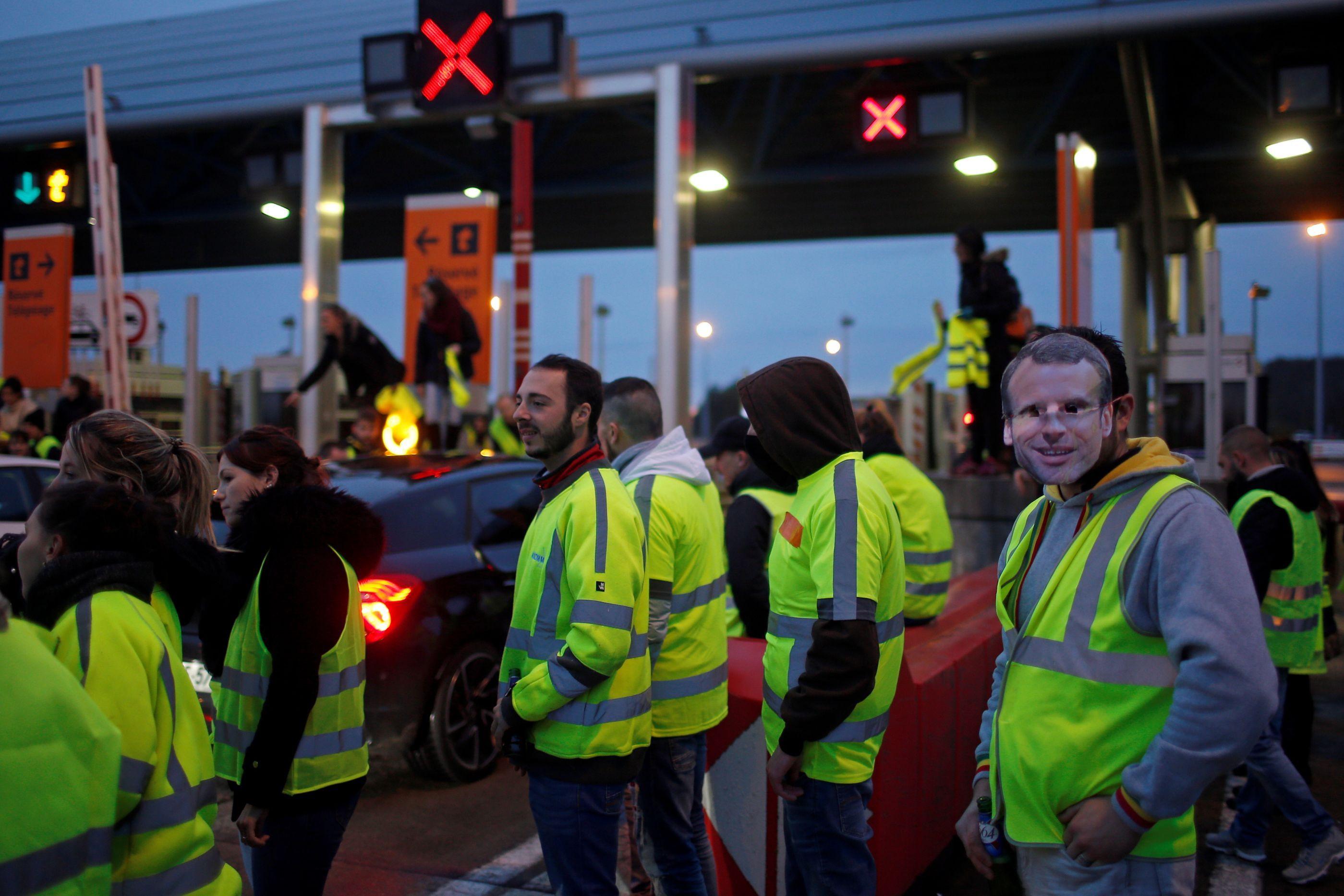 """'Coletes amarelos' portugueses querem """"amplificar descontentamento"""""""